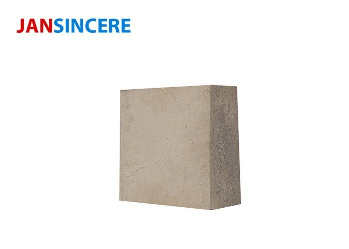 Industrial Silicon Mullite Furnace Refractory Bricks 1480 ℃ High Refractoriness