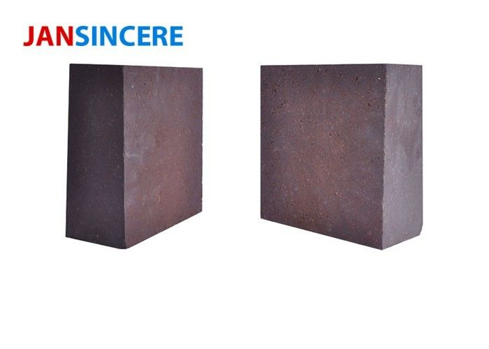 Kiln Furnace Burnt High Temp Bricks , Replacement Fire Bricks Anti - Stripping Ability