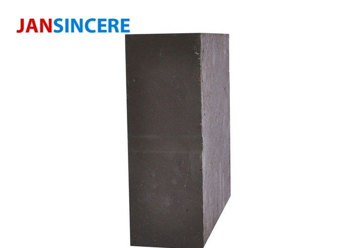 Firing Zone Magnesite Refractory Bricks Good Thermal Shock Resistance