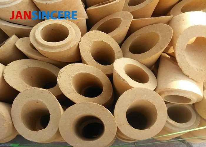 Hot Blast Furnace Insulating Fire Brick , Alumina Fire Bricks For Pizza Oven