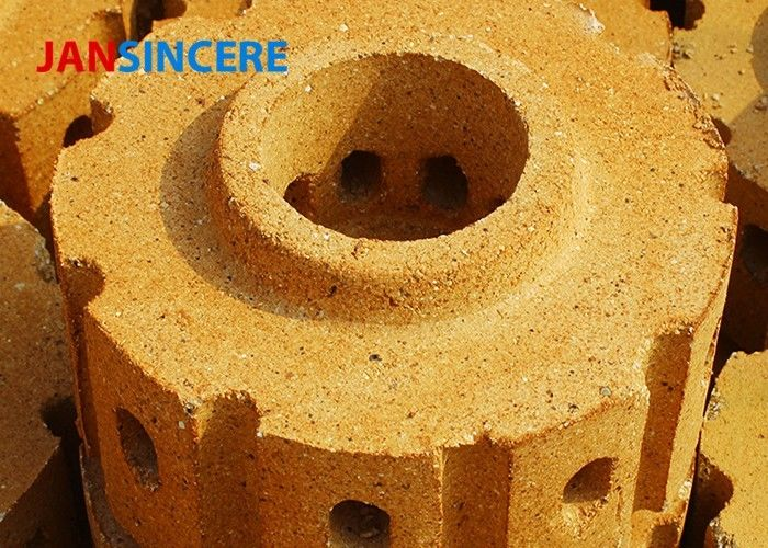 Cement Kiln Alumina Fire Brick , Large Fire Brick Thermal Shock Resistance