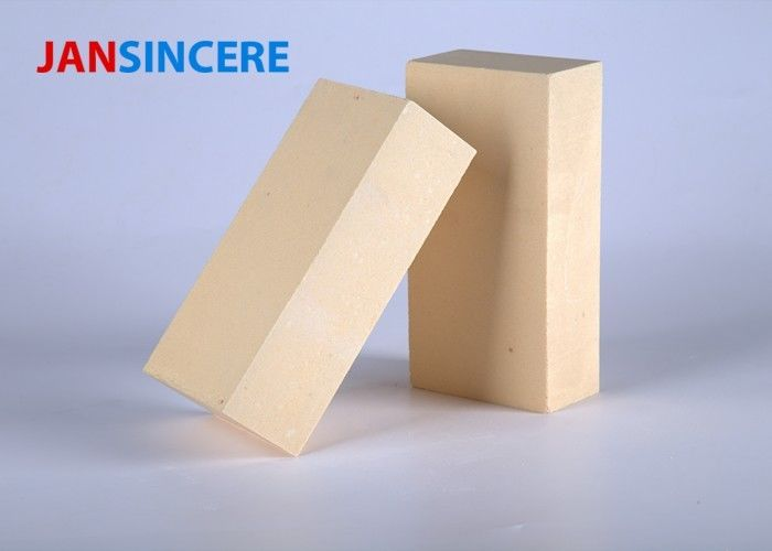 High Temperature Durable Zirconia Bricks , Insulating Refractory Brick