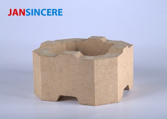 Kiln Furnace Zircon Corundum Thermal Bricks , Zirconium Ceramic Bricks