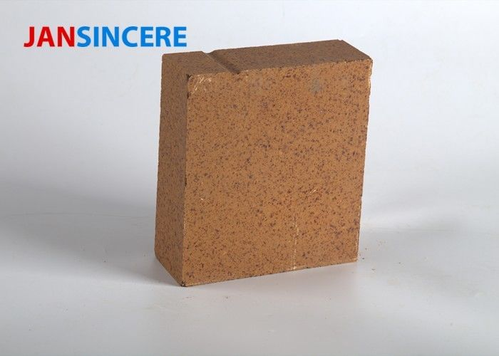 Good Thermal Stability Magnesite Refractory Bricks , High Temperature Brick For Kiln Furnace