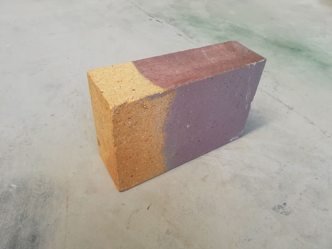 Light Weight Fused Cast AZS Refractory Fire Bricks Good Abrasion Resistance