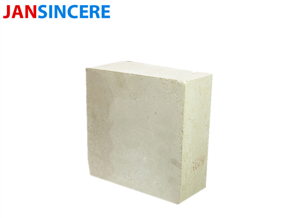 Standard Size Furnace Refractory Bricks  Al2O3 73% Phosphate Thermal Conductivity